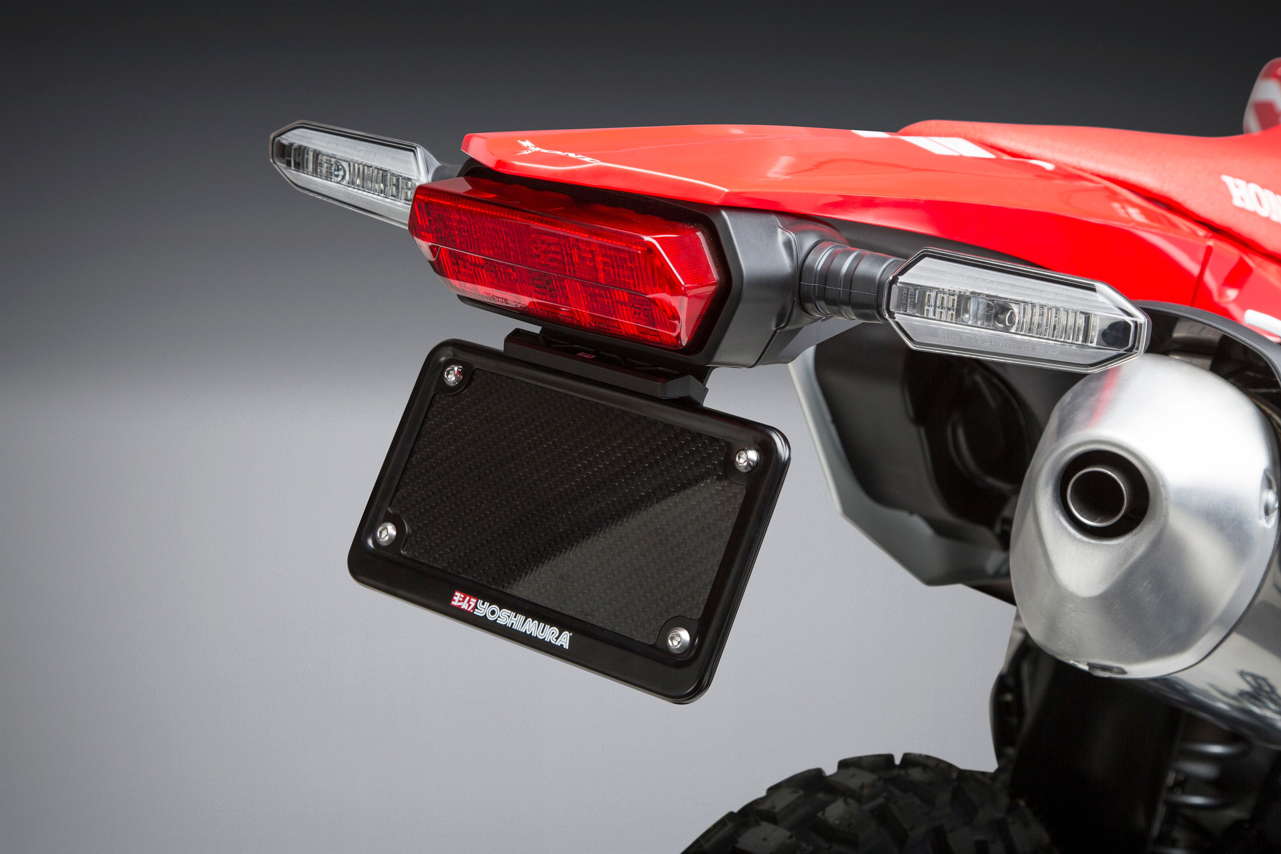 Yoshimura Introduces 2019 Honda CRF450L Fender Eliminator Kit