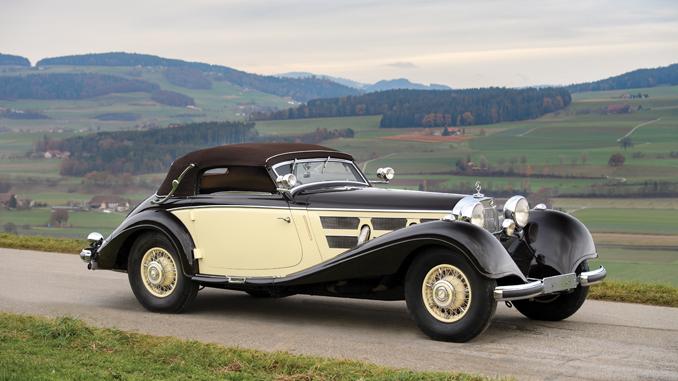 1937 Mercedes-Benz 540 K Cabriolet A by Sindelfingen - RM Sotheby's Essen Sale