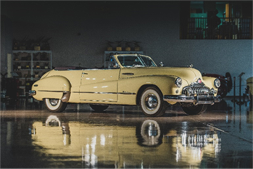 1948 Buick Roadmaster Convertible The Richard L. Burdick Collection (Corey Escobar © 2018 Courtesy of RM Auctions) RM Auctions Fort Lauderdale