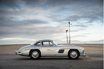 1955 Mercedes-Benz 300 SL Gullwing owned by Adam Levine (Credit - Karissa Hosek © 2019 Courtesy of RM Auctions) Fort Lauderdale Sale
