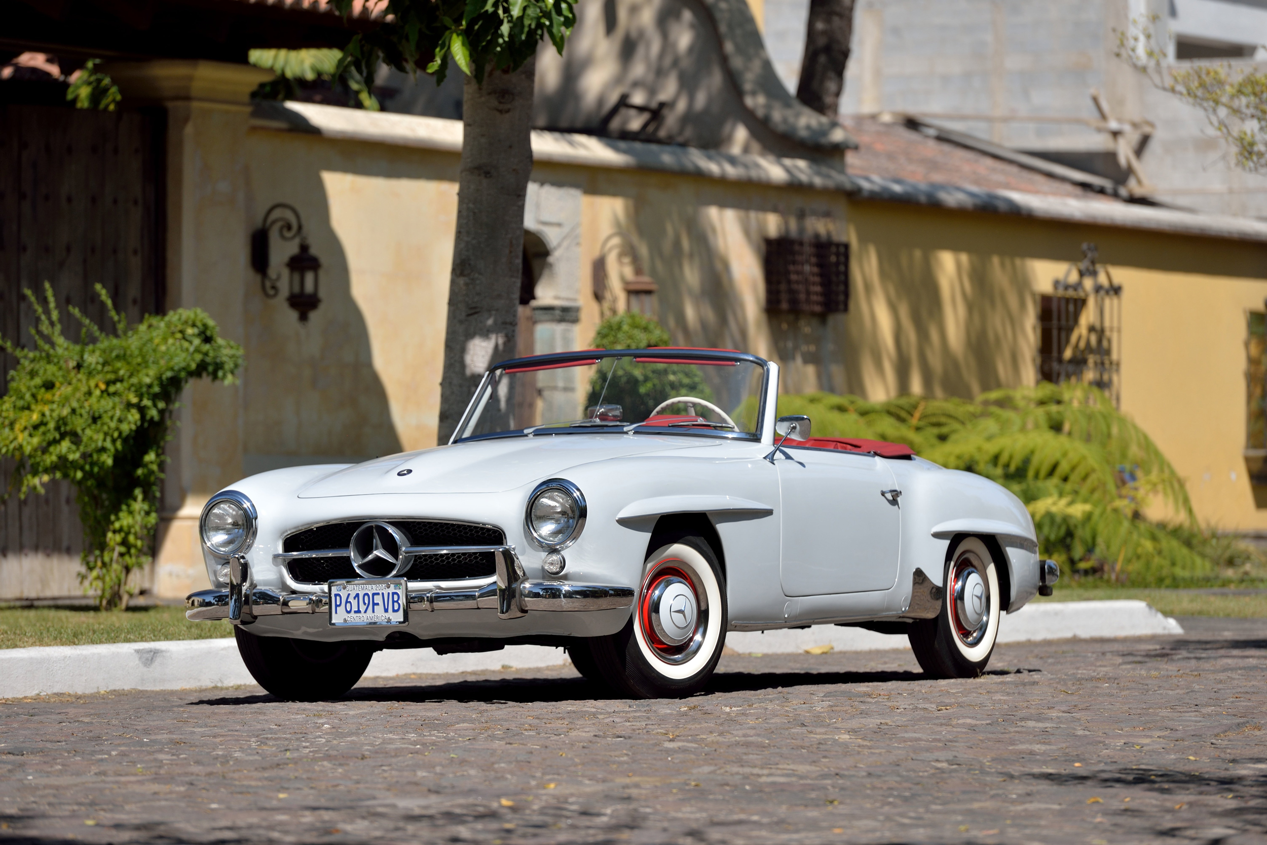 1961 Mercedes-Benz 190SL Roadster 1.9L 4-Speed (Lot S93) - Mecum Auctions Houston