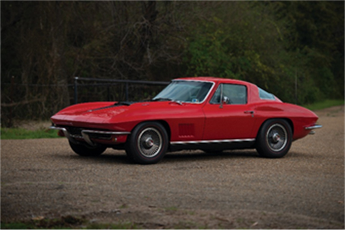 1967 Chevrolet Corvette Sting Ray 427 435 Coupe - A Private Texas Collection (© 2019 Courtesy of RM Auctions) RM Auctions Fort Lauderdale