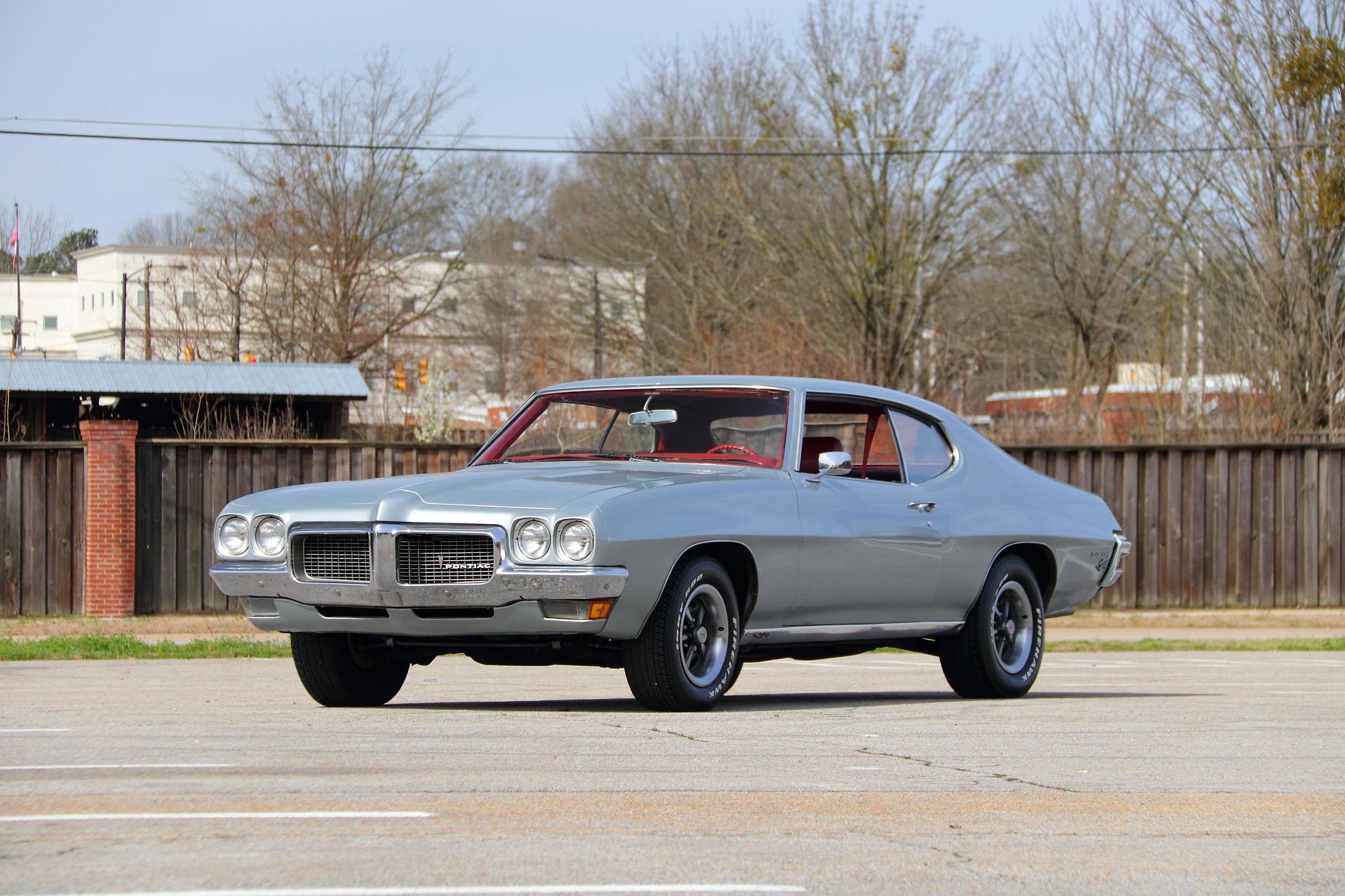 1970 Pontiac Lemans Sport 400 CI 4-Speed (Lot F218) - Mecum Auctions Houston