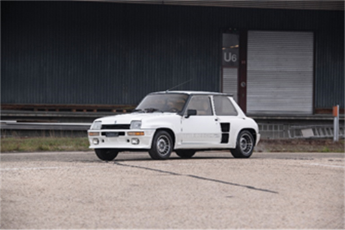 1984 Renault 5 Turbo 2 The Youngtimer Collection (Dirk de Jager ©2018 Courtesy of RM Auctions) RM Auctions Fort Lauderdale