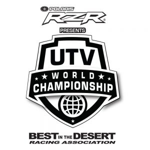 2019 UTV World Championship logo