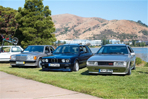 A few of the cars typical of previous RADwood events (Courtesy of RADwood) RM Auctions Fort Lauderdale Sale [1]