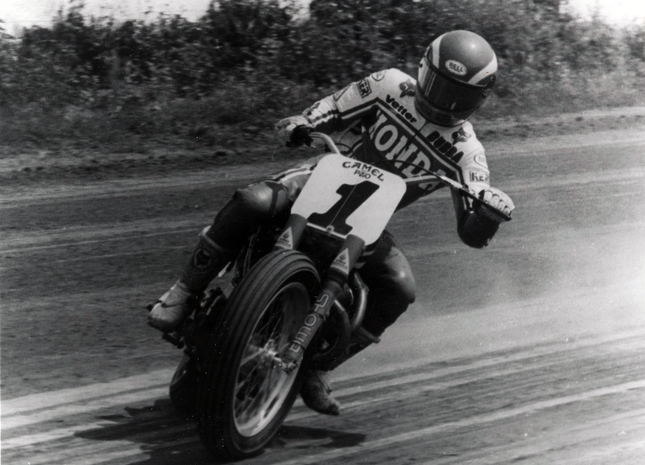 AMA Motorcycle Hall of Famer and 2019 AMA Vintage Motorcycle Days Grand Marshal Bubba Shobert
