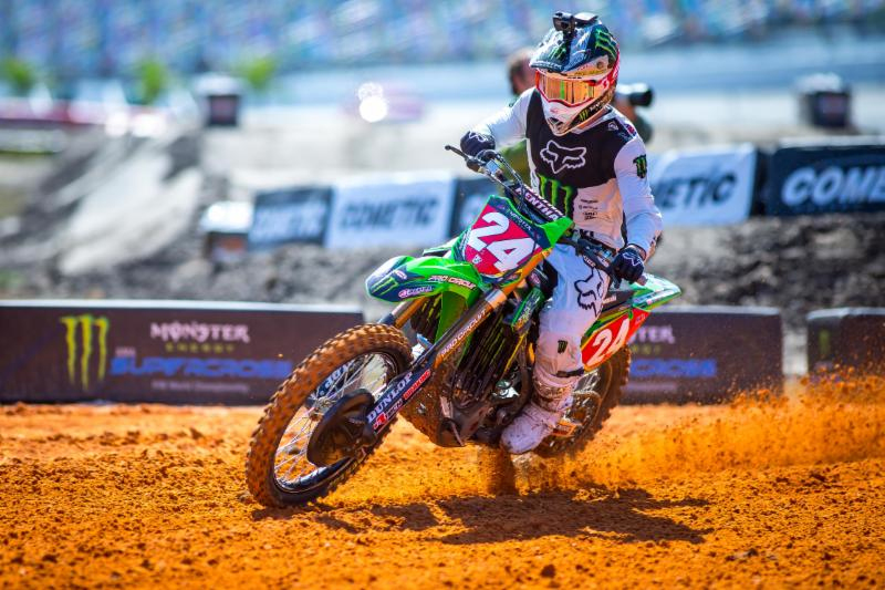 Austin Forkner expands points lead in the Eastern Regional 250SX Class - Daytona Supercross