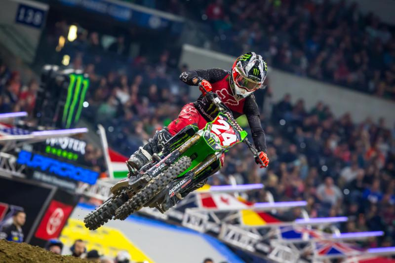 Austin Forkner races to his fifth 250SX Class Main Event win - Monster Energy Supercross Indianapolis
