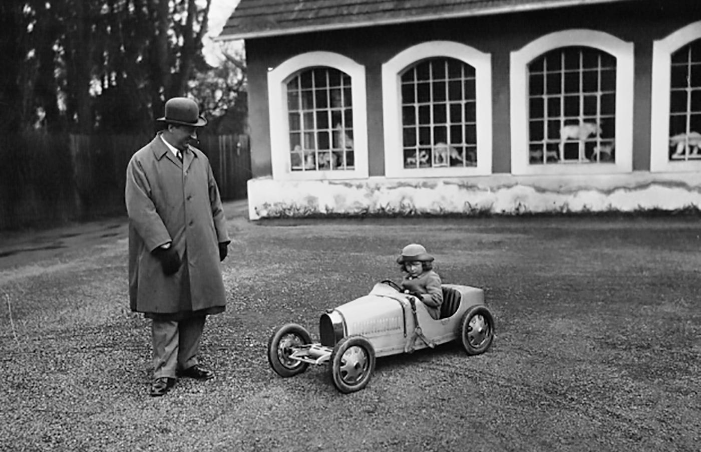 Bugatti Baby Reborn- a 110th Surprise Birthday Present