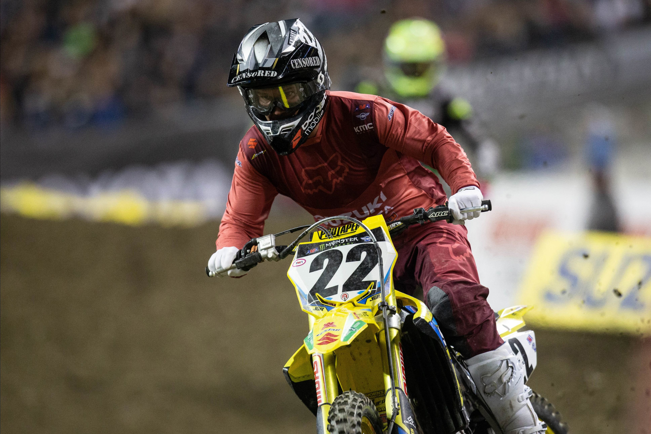 Chad Reed (#22) will put his Supercross career on-hold following an injury in Seattle