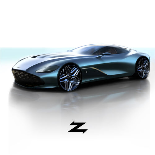 Aston Martin DBS GT Zagato- DBZ Centenary Collection