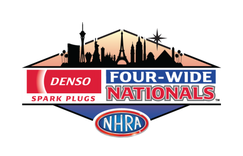 DENSO Spark Plugs NHRA Four-Wide Nationals logo
