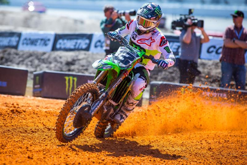 Eli Tomac Wins Third of 2019 Season and Third Career Victory at Daytona Supercross