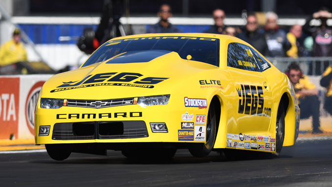 Jeg Coughlin - Pro Stock - NHRA 50th Gatornationals - action