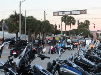 Main Street Daytona Beach Fla. during Daytona Bike Week