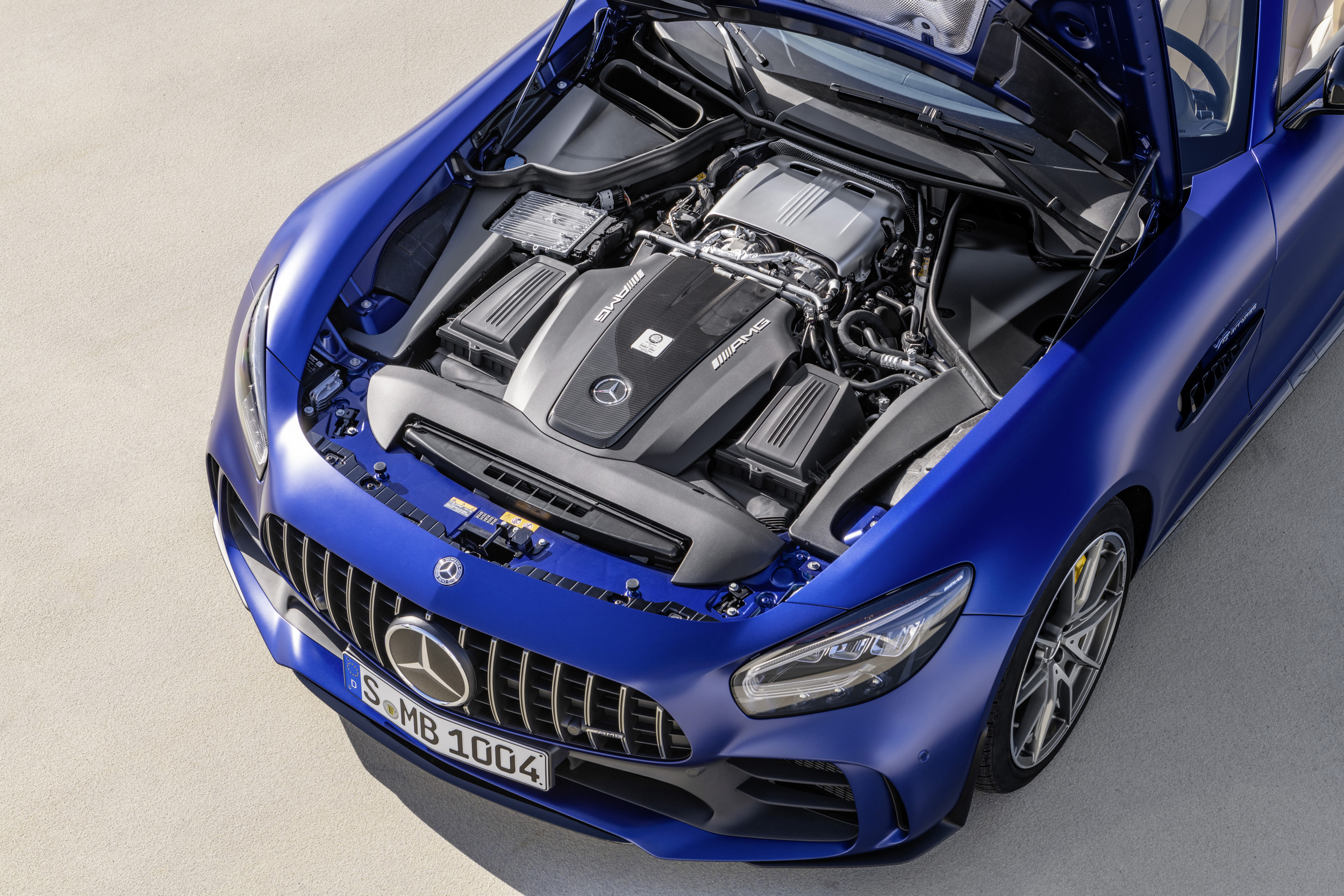 The new Mercedes-AMG GT R Roadster - Motor Sports NewsWire  Way For Diagram Wiring Switch Esp Gtr on