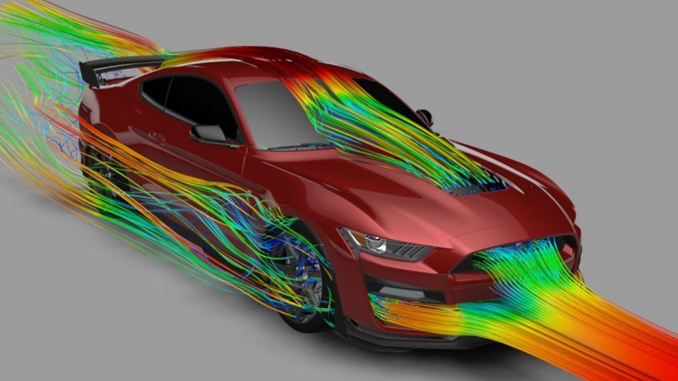 Supercomputers and 3D Printing are Secrets to All-New Mustang Shelby GT500 High Performance