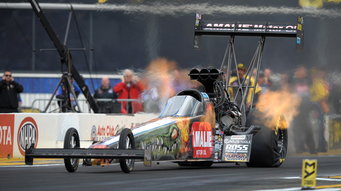 Terry McMillen - Top Fuel - NHRA 50th Gatornationals - action