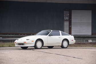 The 1988 Nissan 300ZX Turbo 'Shiro Z' offered from the Youngtimer Collection at RM Auctions Fort Lauderdale (Dirk de Jager © 2018 Courtesy of RM Auctions)