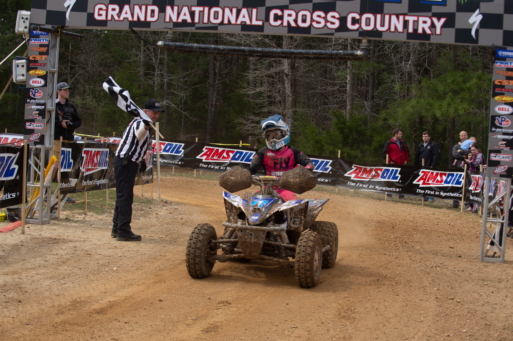 Yamaha ATV and Side-by-Side bLU cRU Racers Starting Strong in 2019 - Traci Pickens 11-Time WXC ATV GNXCC Champion