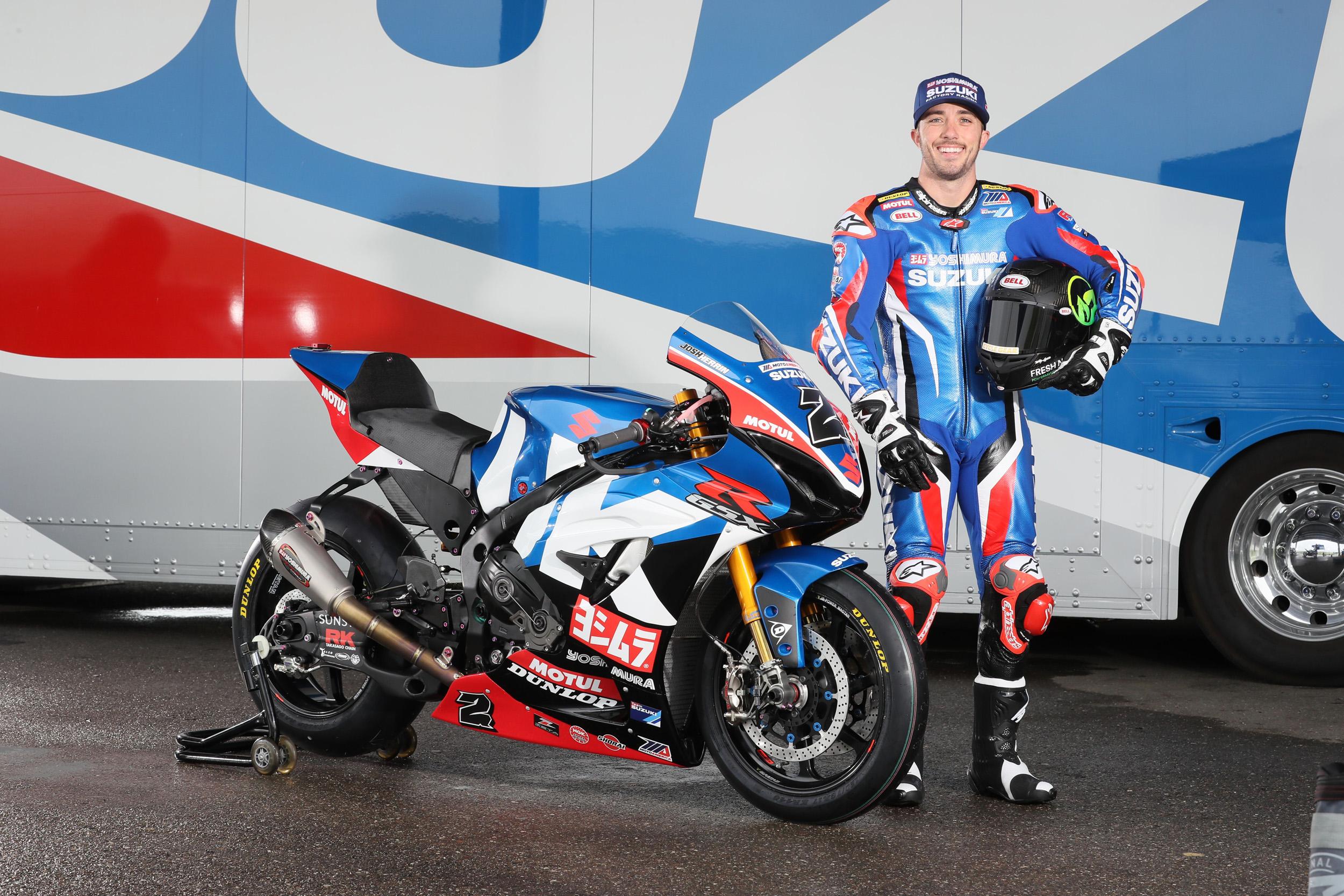 Yoshimura Suzuki Factory Racing - Josh Herrin