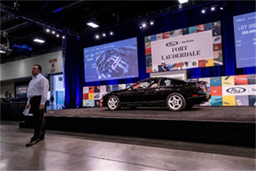 1991 Nissan 300ZX Twin Turbo presented from the Youngtimer Collection (Andrew Miterko © 2019 Courtesy of RM Auctions) Fort Lauderdale