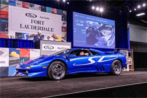 1998 Lamborghini Diablo SV Monterey Edition (Andrew Miterko © 2019 Courtesy of RM Auctions) Fort Lauderdale