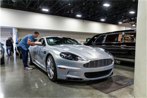 2009 Aston Martin DBS presented from the Youngtimer Collection (Andrew Miterko © 2019 Courtesy of RM Auctions) Fort Lauderdale