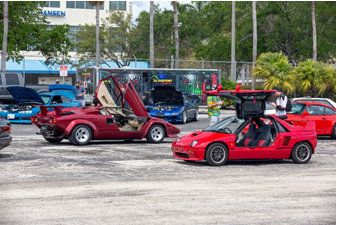 An overview of some of the rad rarities displayed at RADwood at RM Auctions (Andrew Miterko © 2019 Courtesy of RM Auctions) Fort Lauderdale
