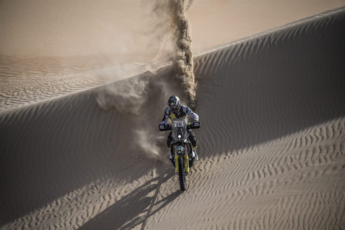 Andrew Short - Rockstar Energy Husqvarna Factory Racing - Abu Dhabi Desert Challenge