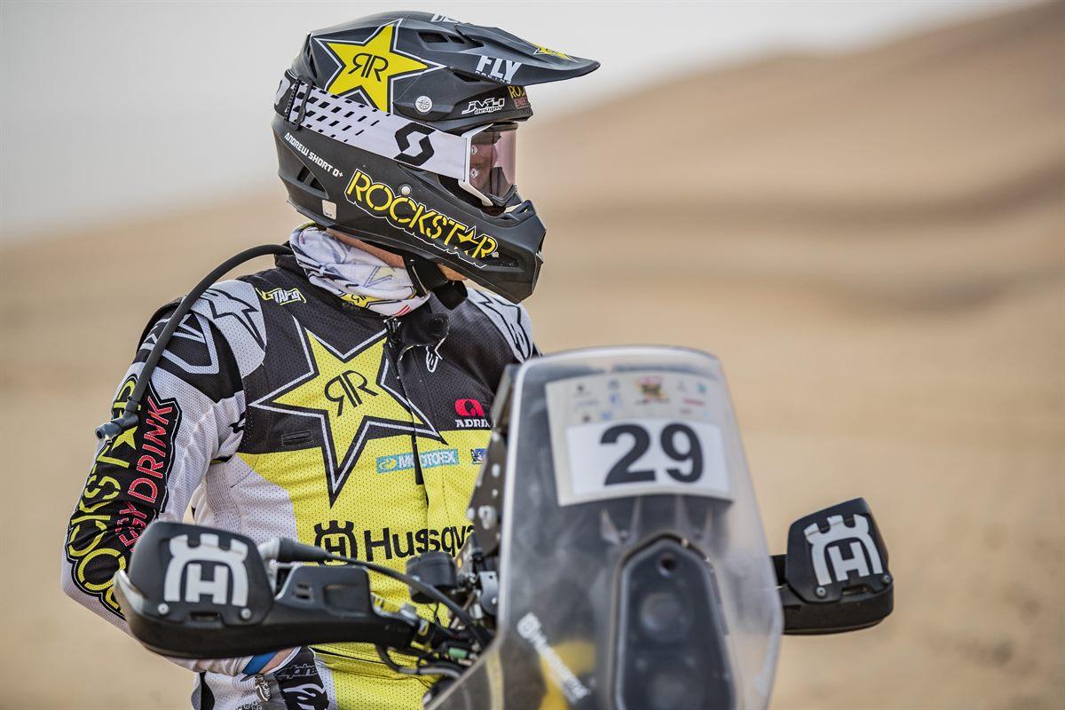 Andrew Short - Rockstar Energy Husqvarna Factory Racing - Abu Dhabi Desert Challenge stage 3
