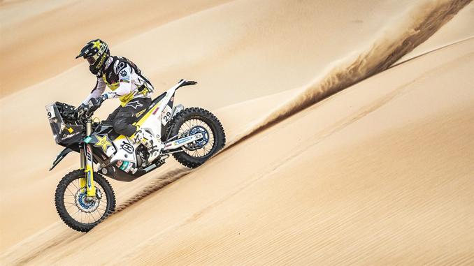Andrew Short - Rockstar Energy Husqvarna Factory Racing - Abu Dhabi Desert Challenge stage 4
