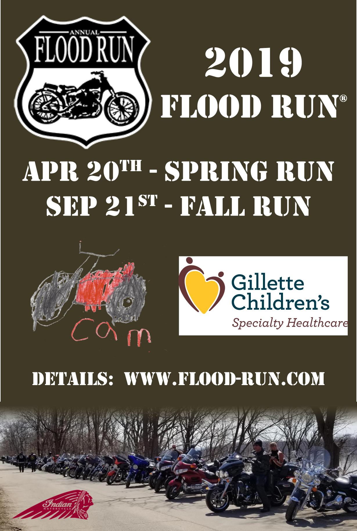 2019 Flood Run - Front postcard-4inx6in-v