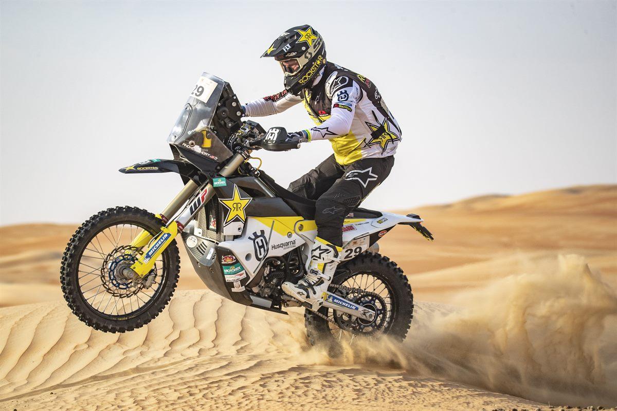 Andrew Short - Rockstar Energy Husqvarna Factory Racing - Abu Dhabi Desert Challenge stage 5