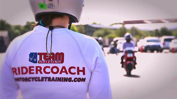 Tucker Partners with TEAM Arizona Motorcyclist Training Centers