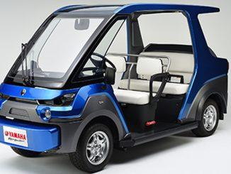 Yamaha YG-M FC Fuel Cell Vehicle