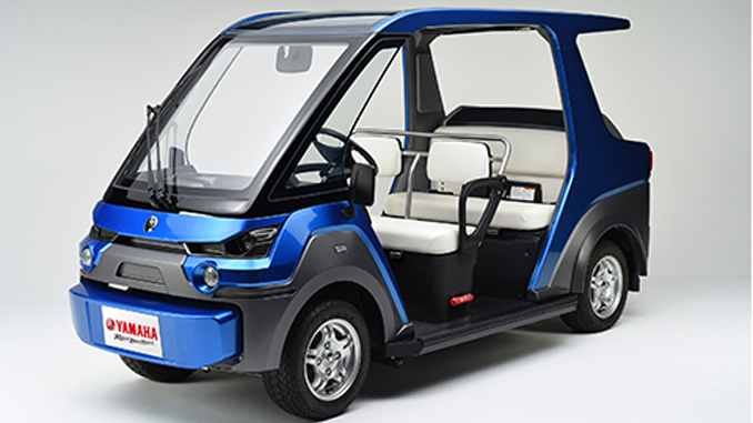 Yamaha YG-M FC Fuel Cell Vehicle