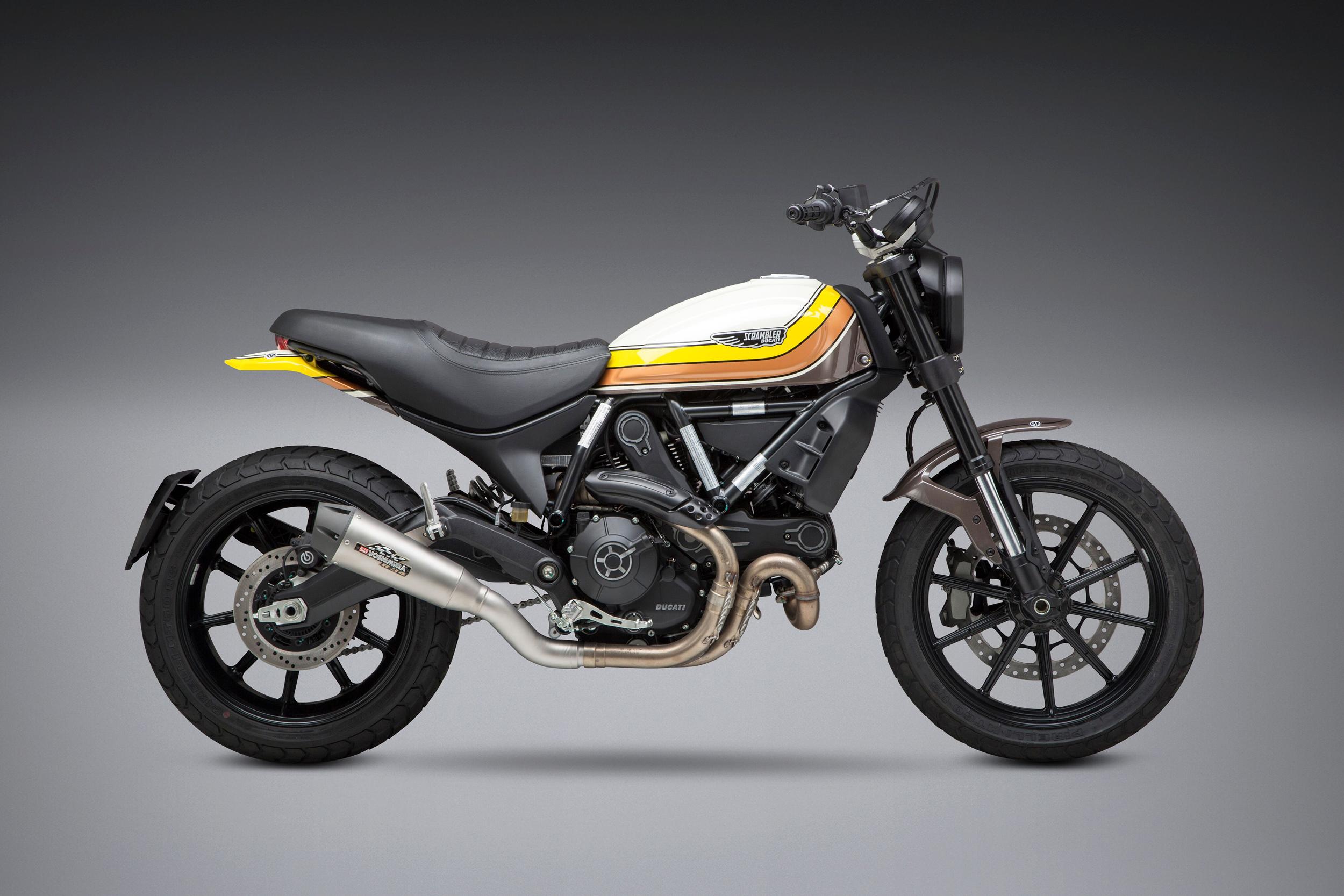 Yoshimura Introduces 2019 Ducati Scrambler Race Series Slip-on