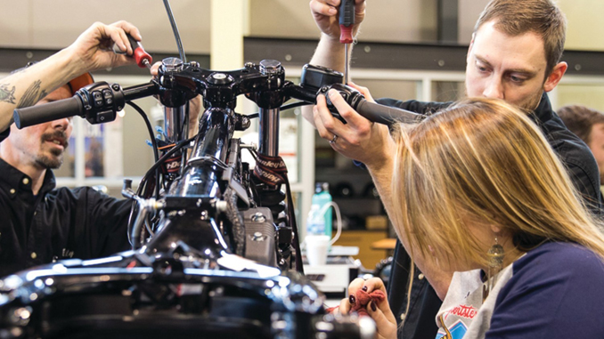 "Harley-Davidson Teams With Local Trade Schools For ""Battle Of The Kings"" Custom Bike Build Competition"