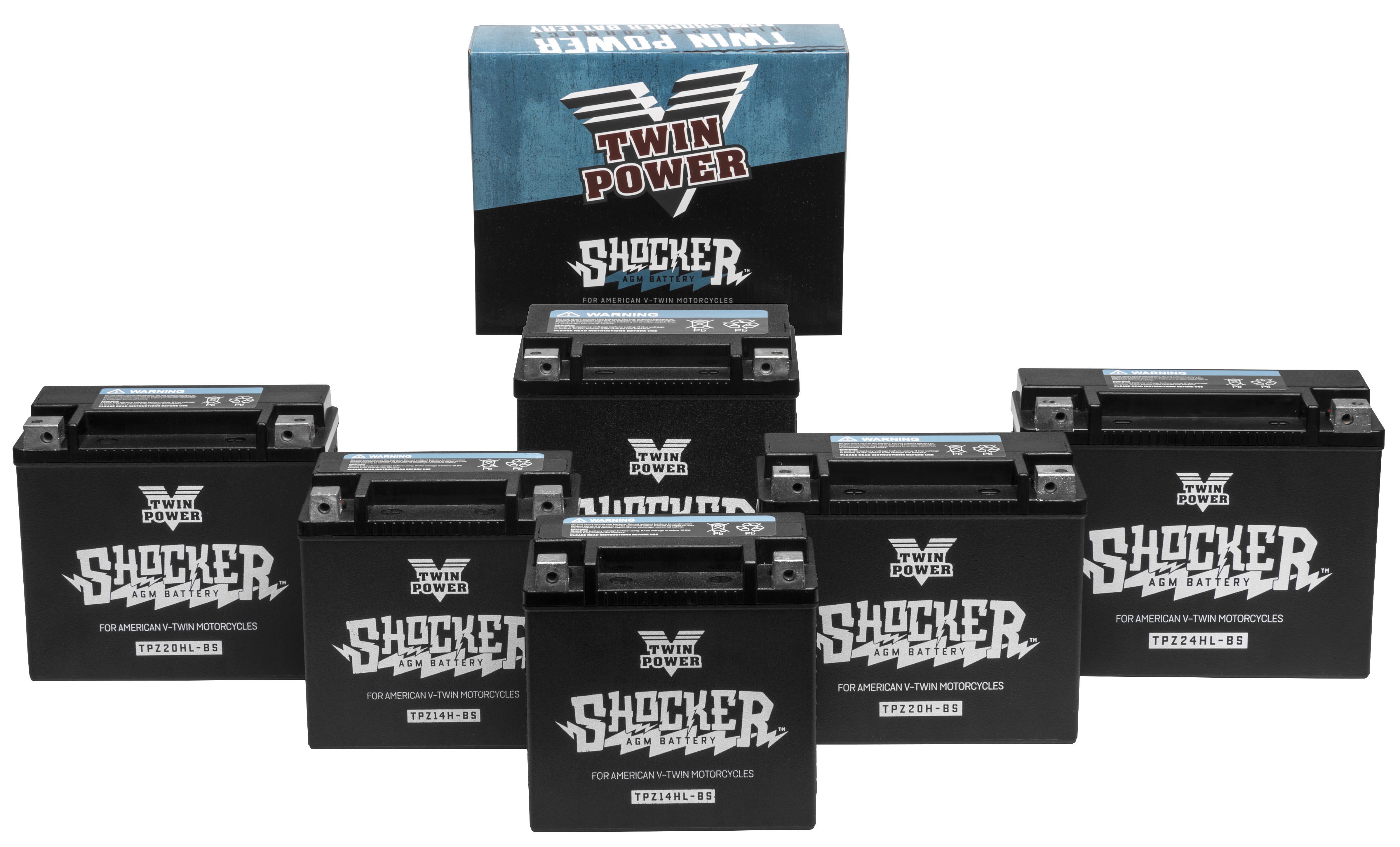 Twin Power Introduces Shocker™ Battery Line