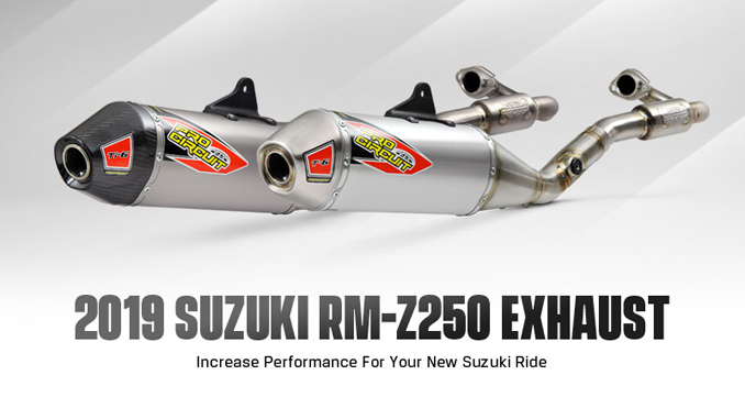New Products- Pro Circuit 2019 RM-Z250 Exhaust