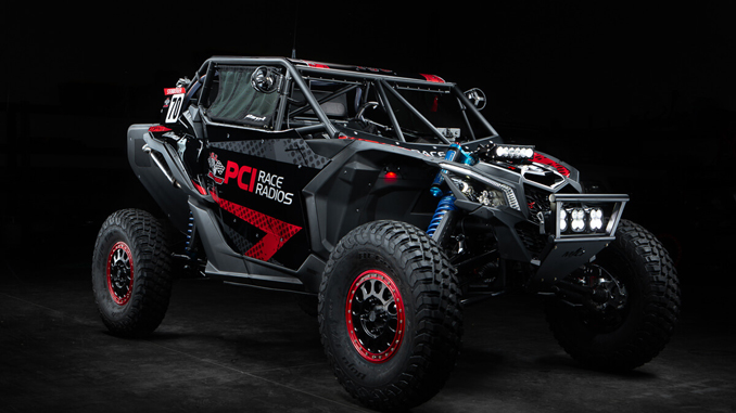 "PCI's Scott Steinberger's Magnum Built 2019 Can AM X3 Rally UTV ""El Tigre"""