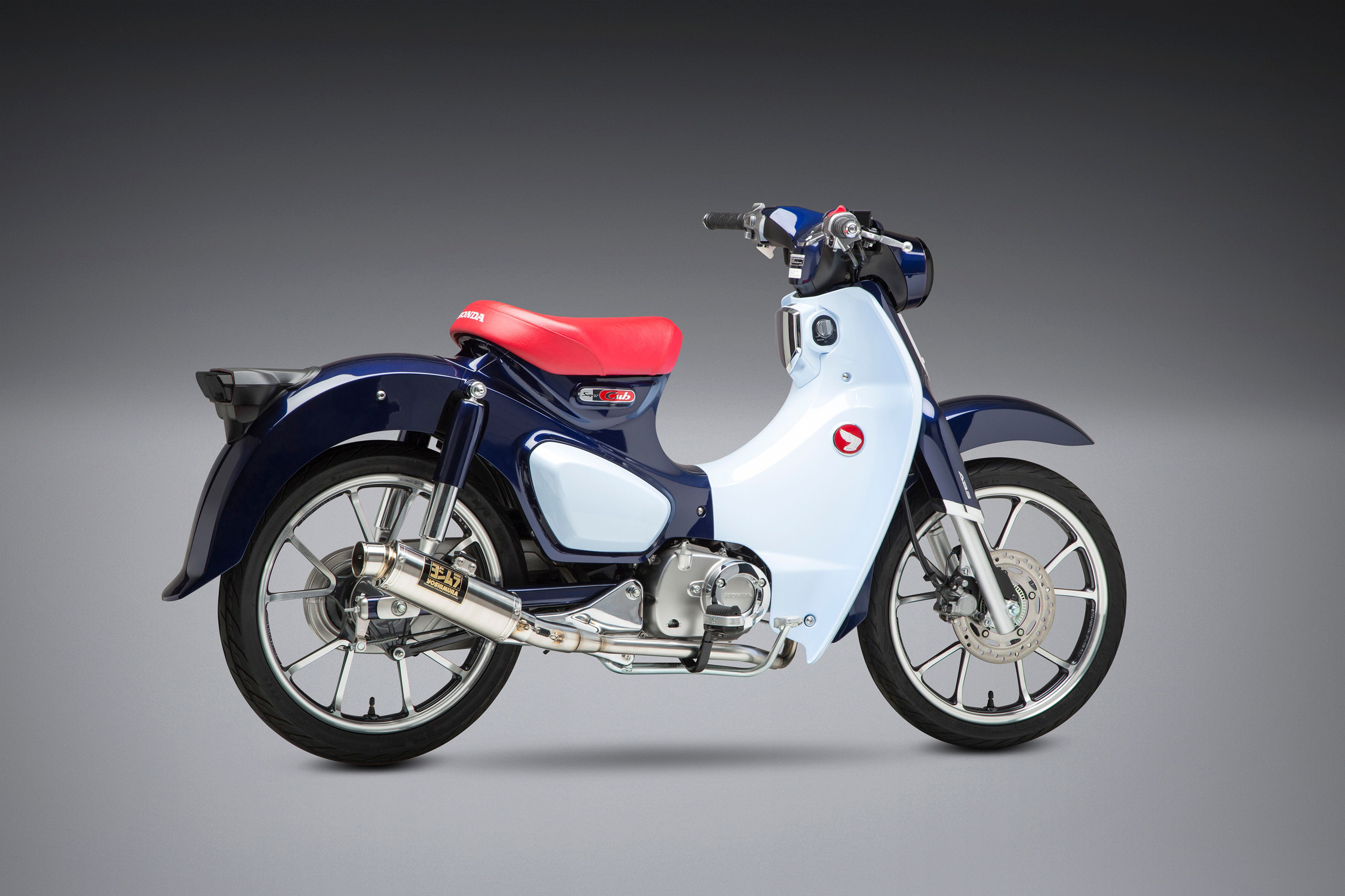 2019 Honda Super Cub with Yoshimura GP-Magnum stainless Race Series system