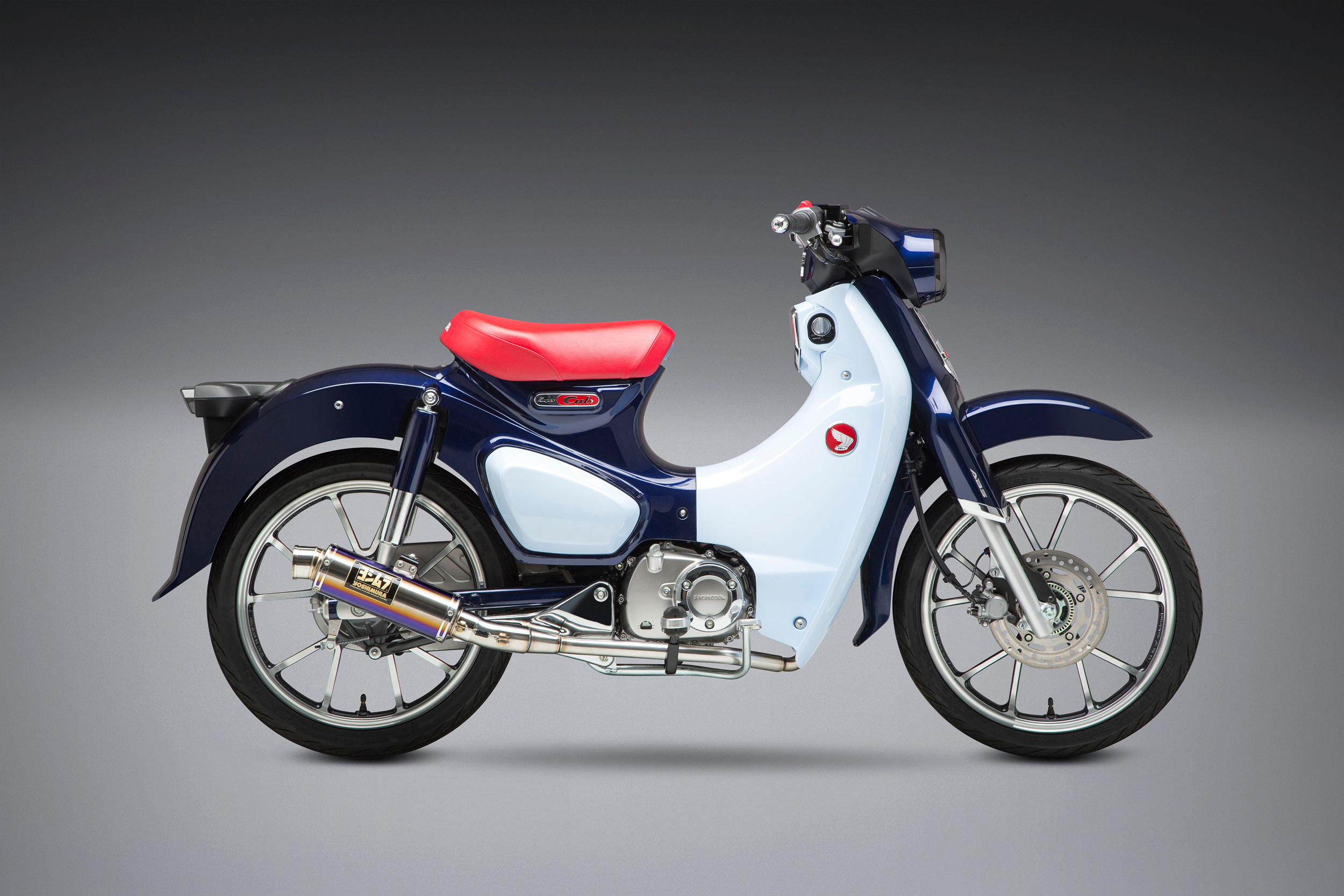 2019 Honda Super Cub with Yoshimura GP-Magnum titanium Race Series system