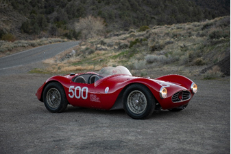1954 Maserati A6GCS (Credit - Darin Schnabel © 2019 Courtesy of RM Sotheby's) Monterey Sale