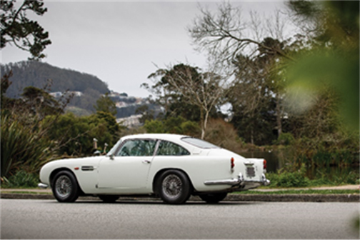 1964 Aston Martin DB5 (Credit – David Bush © 2019 Courtesy of RM Sotheby's) Monterey Auction