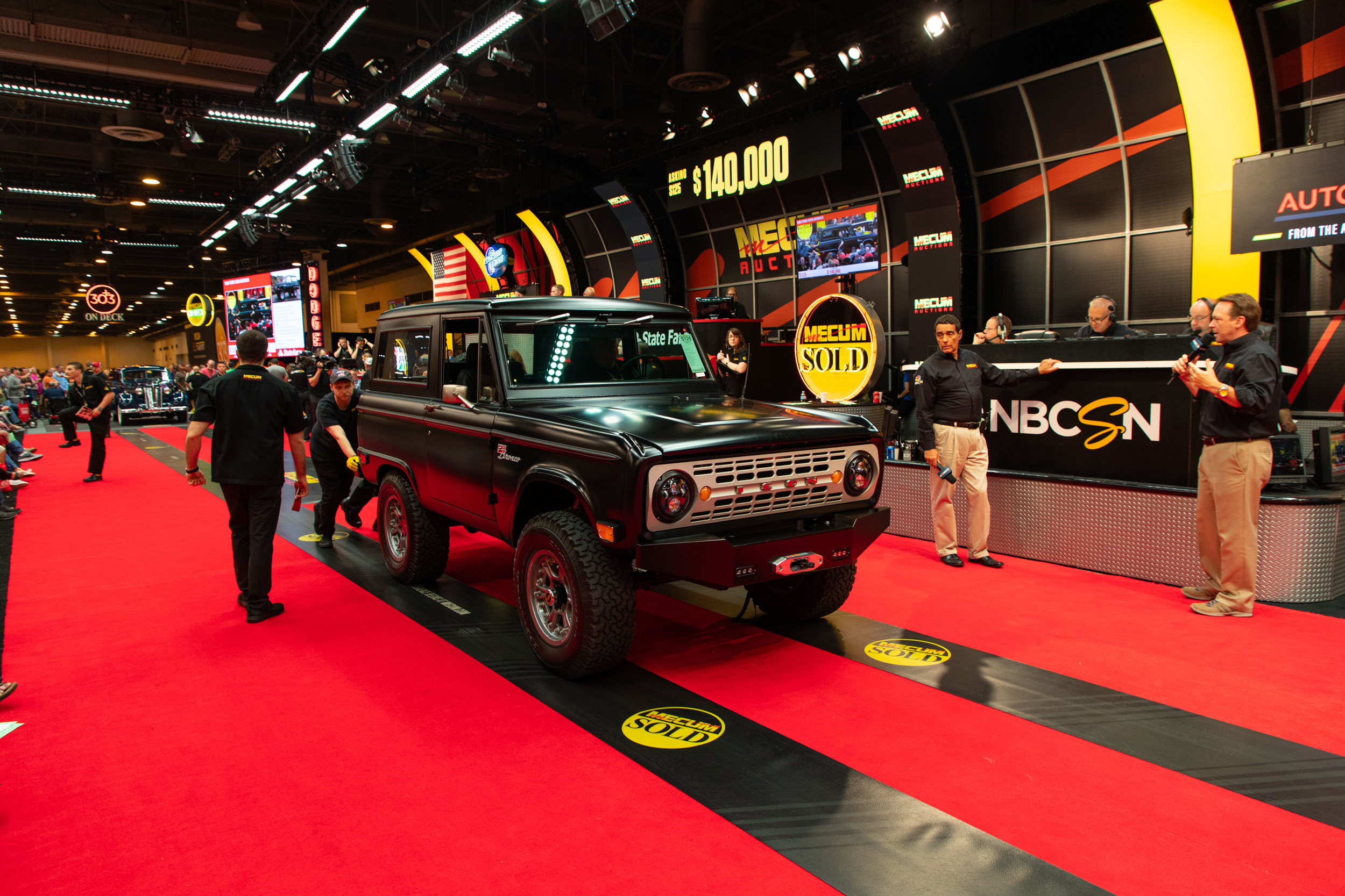 1968 Ford Icon Bronco (Lot S125) Sells at $192,500 - Mecum Houston 2019