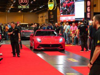 2014 Ferrari F12 (Lot S121.1) Sells at $203500 - Mecum Houston 2019