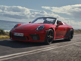 2019 Porsche 911 Speedster celebrates North American premiere in New York